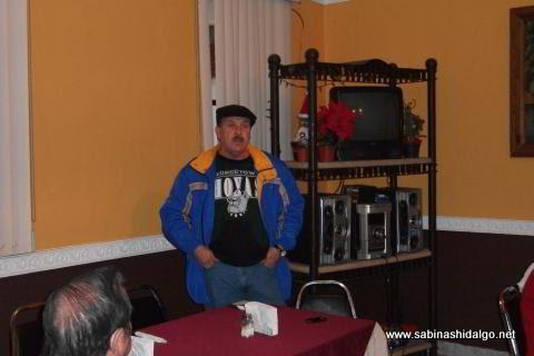 Mario Treviño Villarreal dictó una conferencia sobre las Minas de la Iguana