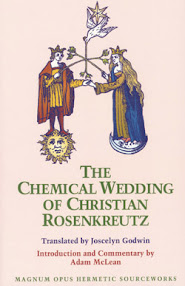 Cover of Benjamin Rowe's Book Chymical Wedding of Christian Rosenkreutz