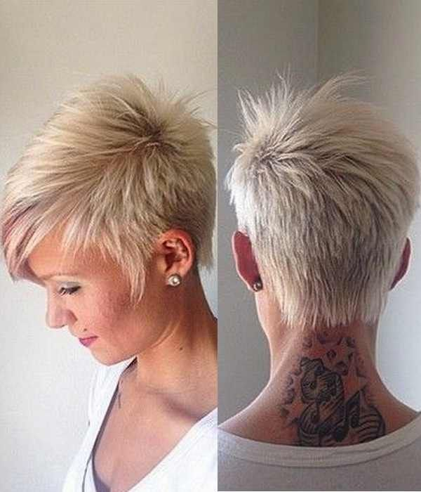 CRAZY SPIKY SHORT HAIRCUTS FOR LADIES &OLDER WOMEN 2