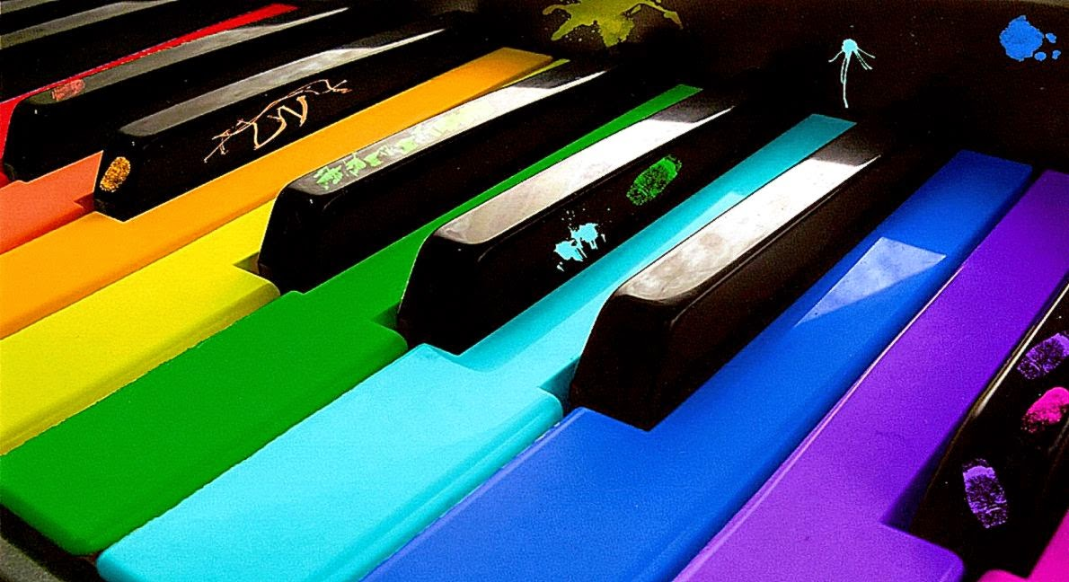 3d Piano Colorfull Wallpapers Hd Desktop Wallpaper Background Gallery