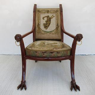 German Neo-Classical Armchair