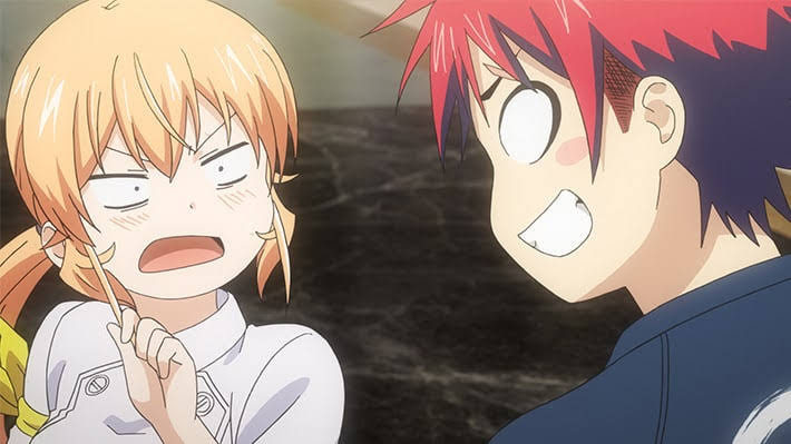 アニメ:食戟のソーマ 神ノ皿 7話「ふたりの女王」