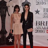 OIC - ENTSIMAGES.COM - Sam Rollinson and Charlotte Wiggins at the  The BRIT Awards 2016 (BRITs) in London 24th February 2016.  Raymond Weil's  Official Watch and  Timing Partner for the BRIT Awards. Photo Mobis Photos/OIC 0203 174 1069