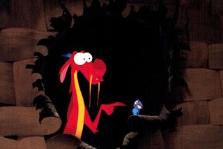 Mushu, da animação Mulan, da Disney - Cricket (Gri-li)