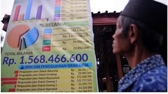 Desa di Tempuran di Dorong Pasang Dua Baligo Publikasi Anggaran