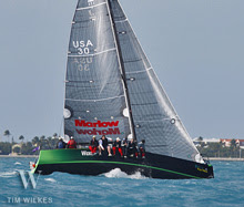 J111 Wicked 2.0 sailing Key West