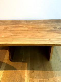Natural Edge Slab Wood Coffee Table