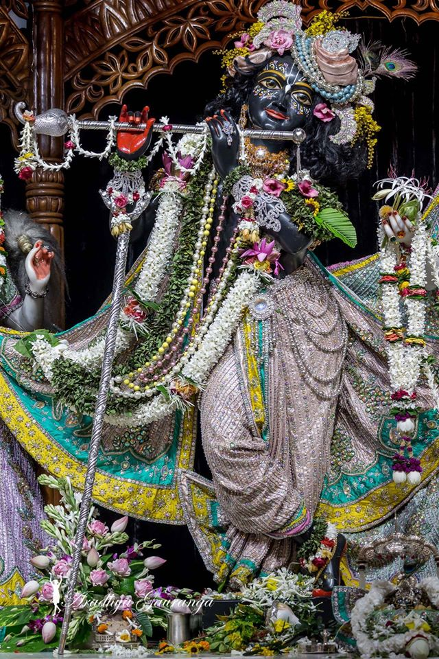 ISKCON Mayapur  Deity Darshan 22 July 2016 (9)