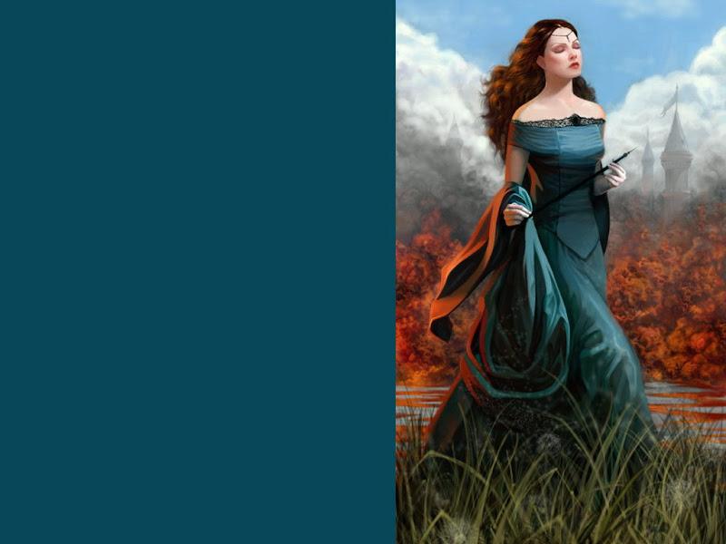 River In Flame, Magic Beauties 1