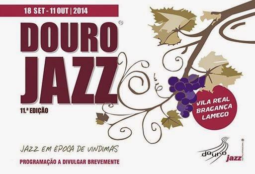 Cartaz - Douro Jazz - 11ª Edição - 18 de setembro e 11 de outubro de 2014