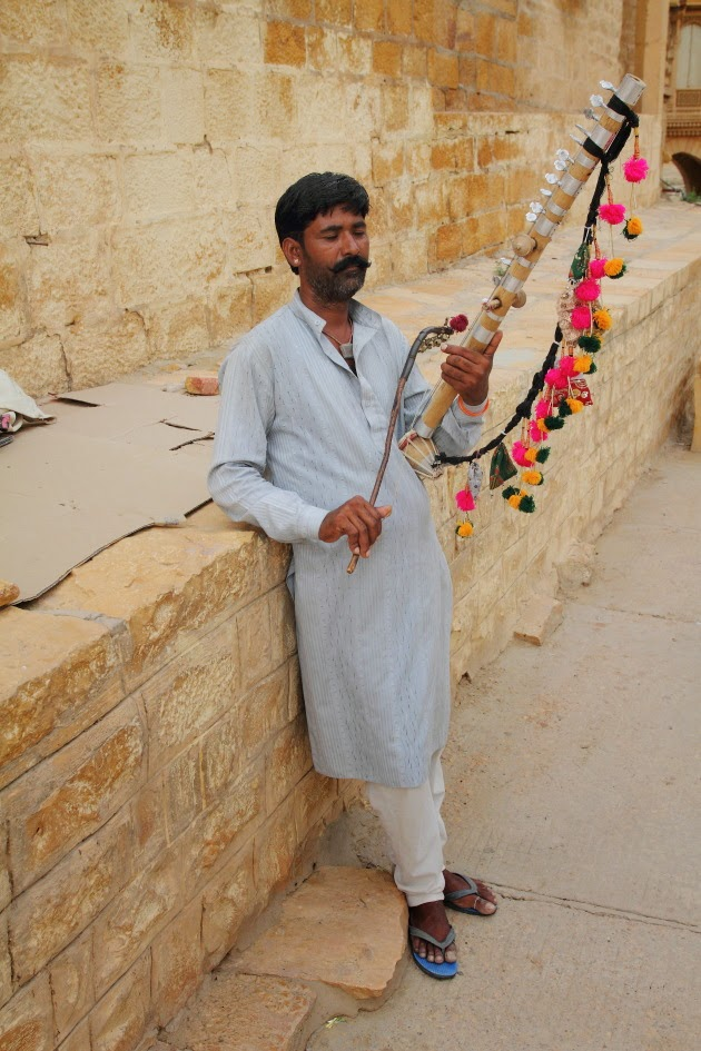 A Rawan Hatha Street Musician from Jaisalmer
