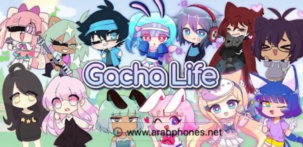 تحميل لعبة Gacha Life مهكرة للاندرويد - جميع الاصدارات