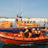 Poole's Tyne class and B class Atlantic 85 lifeboats Sunday 14 July 2013 Photo: RNLI Poole/Dave Riley