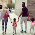 Mikel Obi & Girlfriend Accompany Their Twins To Their First Day Of Nursery School