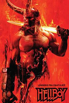 Capa Hellboy (2019) Dublado e Legendado Torrent