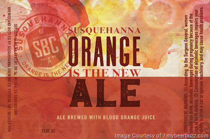 Image result for SUSQUEHANNA ORANGE IS THE NEW ALE