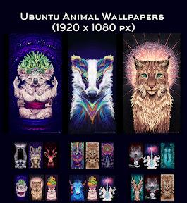 Ubuntu Animal Wallpapers by Sylvia Ritter para Ubuntu y derivados. Logo.
