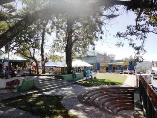 Parque central de la ciudad