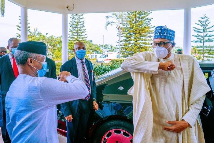 I Am Happy I Chose Osinbajo As My Running Mate – Buhari Sends Wishes To VP