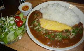 西湖洋食屋「HANASHINOBU」様 一番人気 特製オムハヤシ