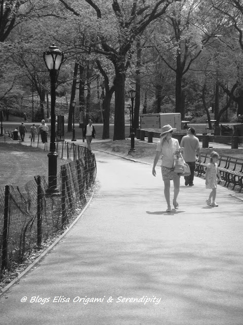 Central Park en blanco y negro, Manhattan, Nueva York, Elisa N, Blog de Viajes, Lifestyle, Travel