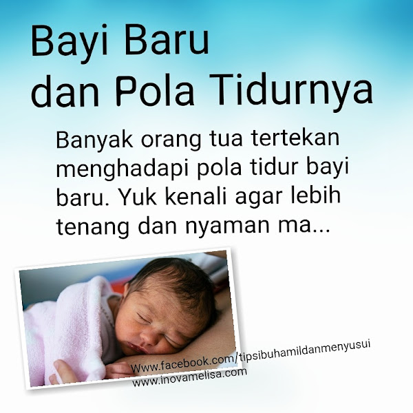 Pola Tidur Bayi Baru dan Tips Mengatasinya