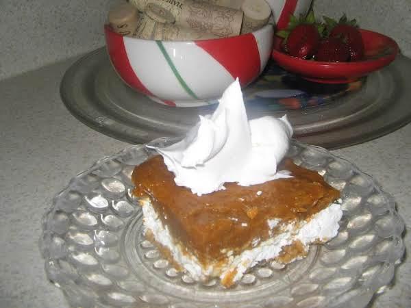 Creamy Pumpkin Dessert Squares