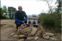 Eskibelgo atxa mendiaren gailurra 816 m. -- 2016ko maiatzaren 6an