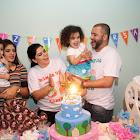 Prefeito Carlin Moura participou do aniversário de 3 anos de Lavinia