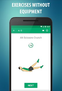 Abs workout  - 21 Day Fitness Challenge Screenshot