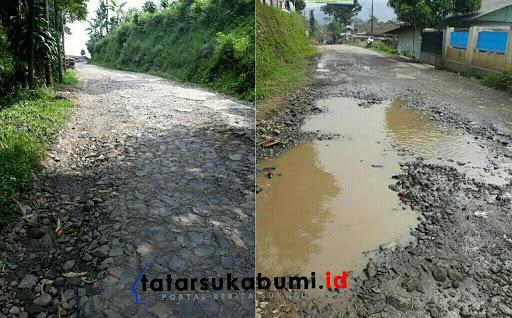 Rawan Kecelakaan dan Kejahatan Akibat Minimnya Penerangan dan Jalan Penghubung Antar Desa Rusak di Cipeuteuy