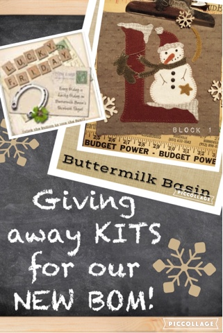 Buttermiilk Basin Stitchery Bless Those Who