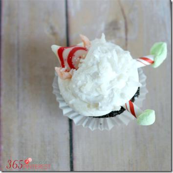 elf cupcake