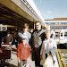 Early summer 1971. Heathrow Airport, London. Departure for Canada. Front, John and Barbara. Rear, Tobias and  Douglas Fisher. They are leaving, Mark stays behind in London, awaiting Matthew's arrival in a week or two.