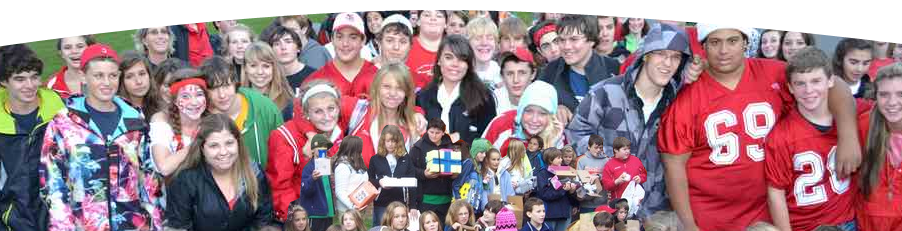 Image of students from Saranac Lake.