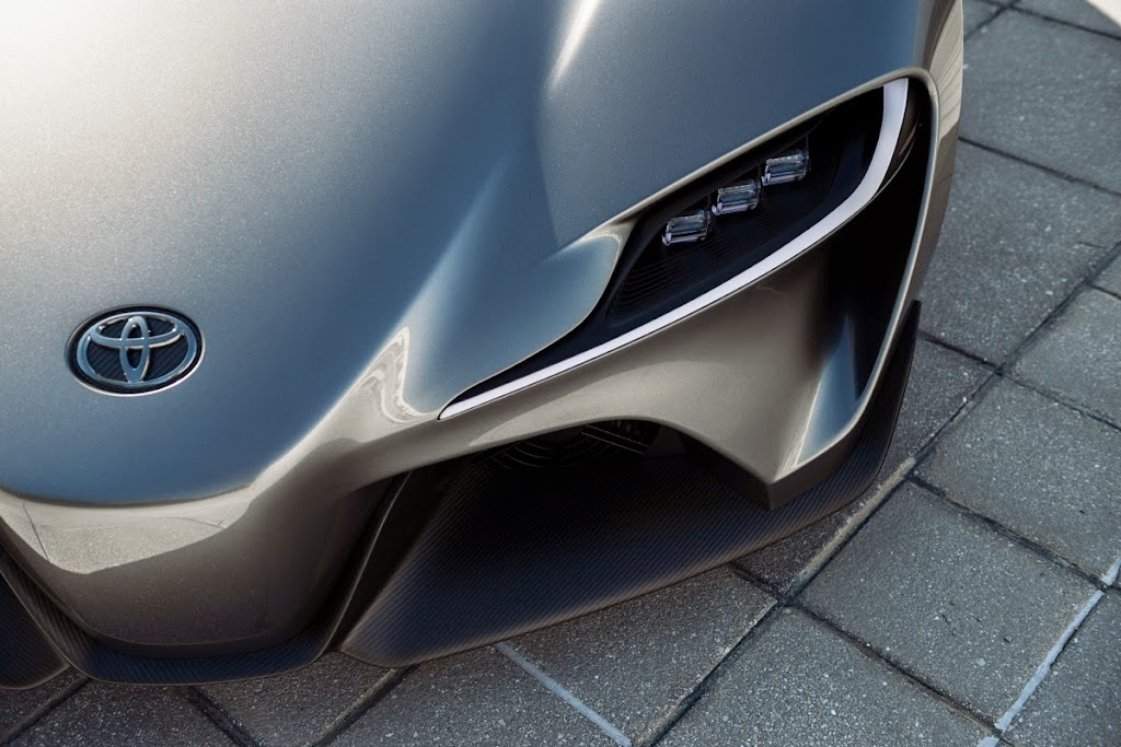 Toyota FT1 Concept New Supra Pebble Beach Monterey013