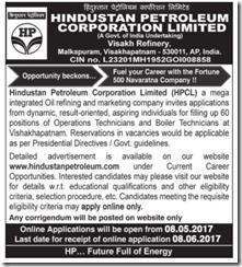 HPCL Technician Vacancy 2020 www.jobs2020.in