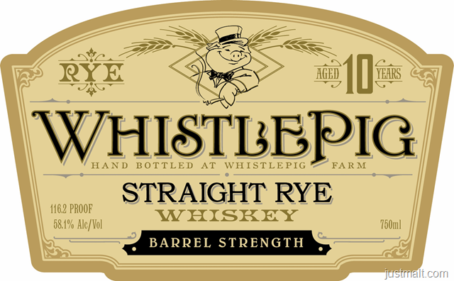 Whistle Pig Barrel Strength 116.2 & 114.2