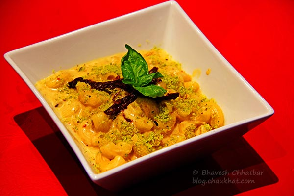 Mac & Cheese Pasta at Frisco, Koregaon Park, Pune