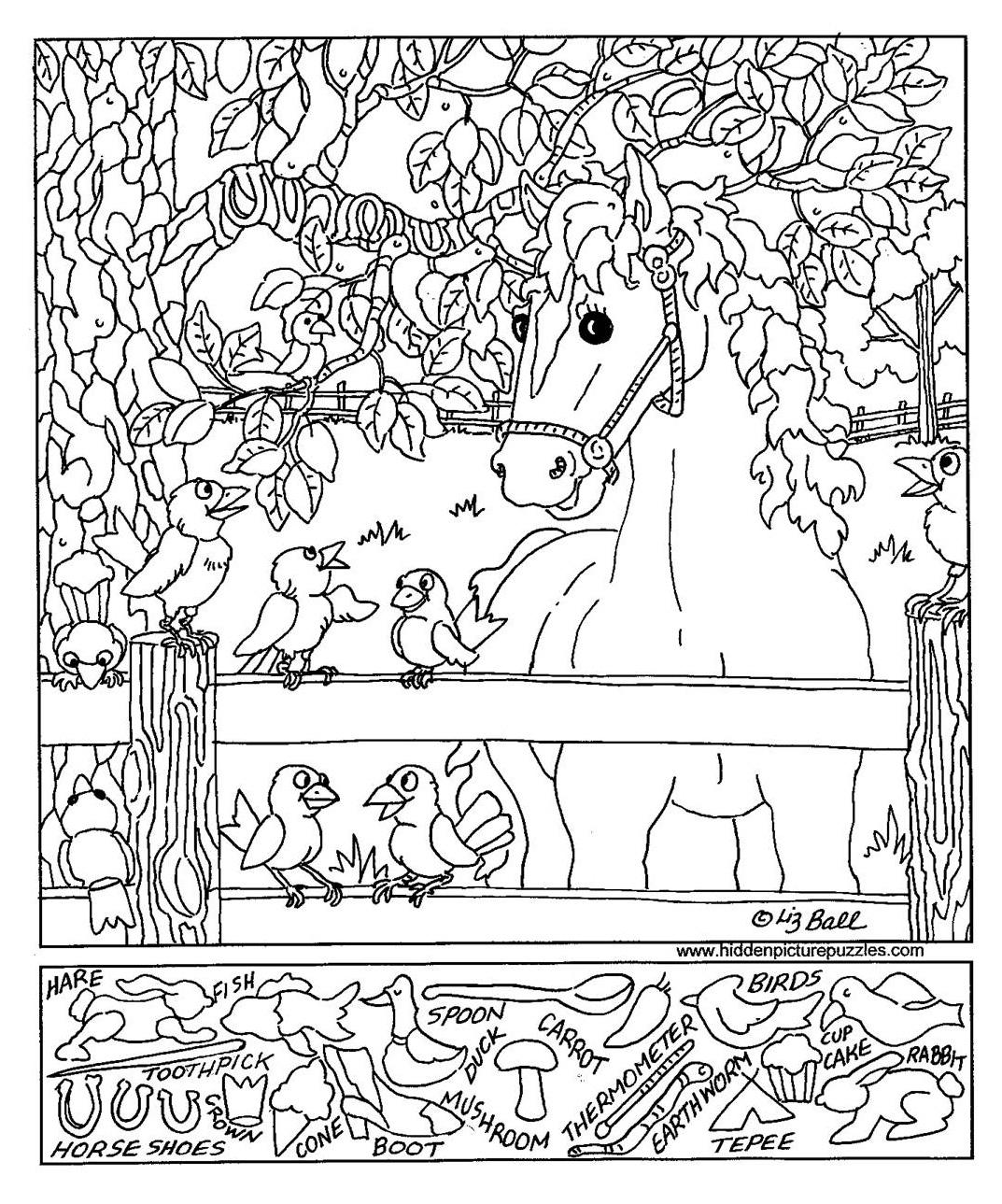 Waroeng Buku Kalyca Worksheet Hidden Picture