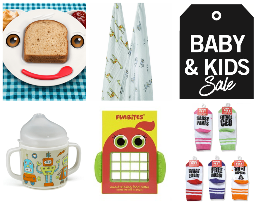 Baby kids sale items header