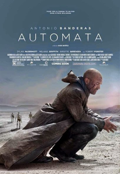 Poster Of English Movie Autómata (2014) Free Download Full New Hollywood Movie Watch Online At alldownloads4u.com