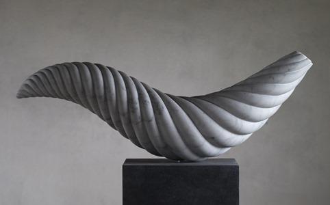 Kotori: CARRARA MARBLE, 2015: W 76cm, H 46 cm, D 19 cm; £6,000