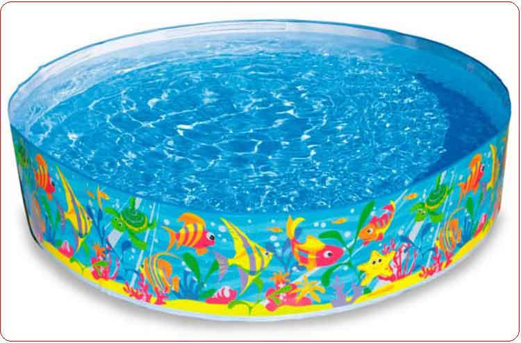 Bể bơi trẻ em Intex 56452 thành cứng.