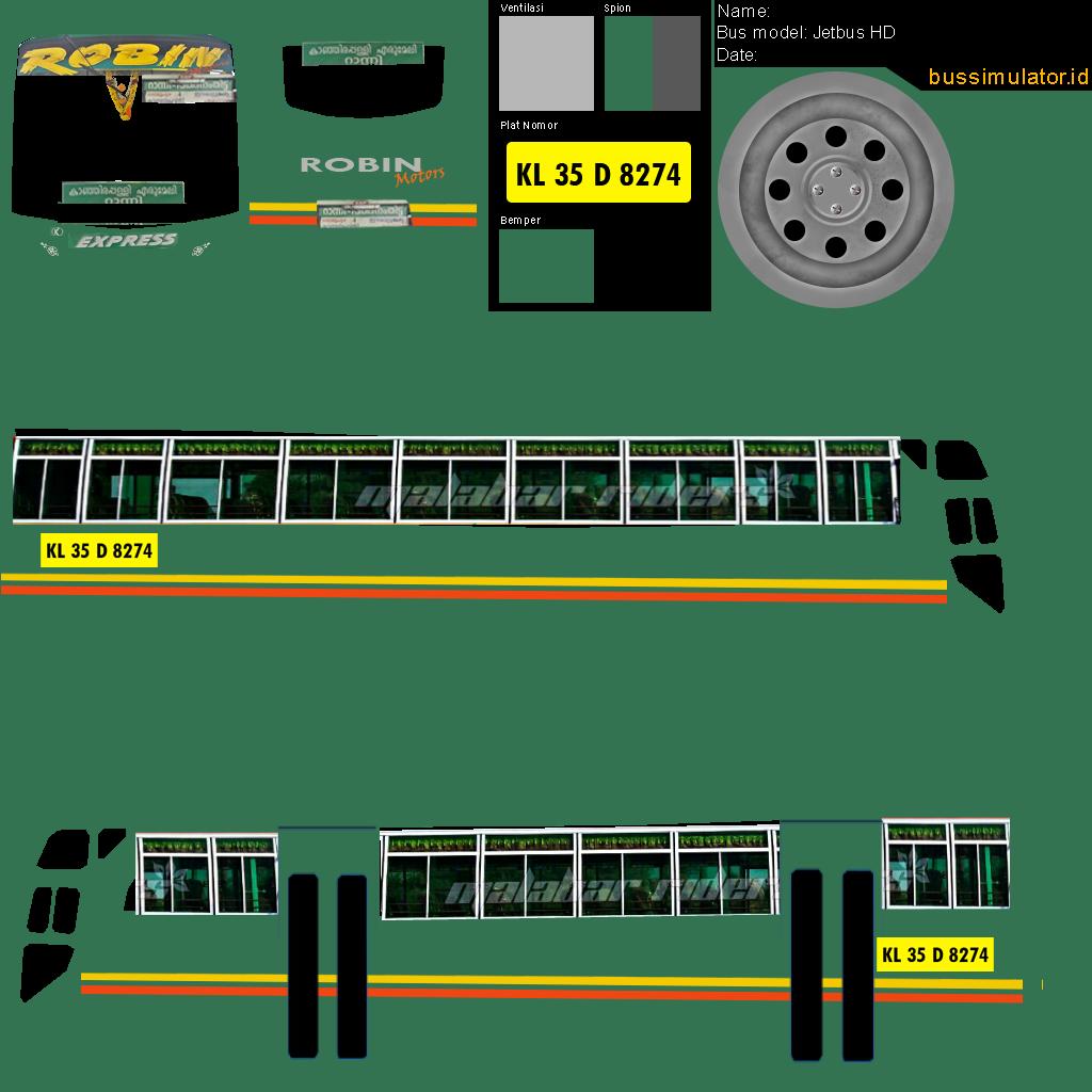 Bussid Livery Tamil Nadu