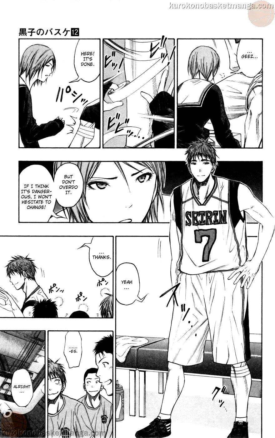 Kuroko no Basket Manga Chapter 100 - Image 17