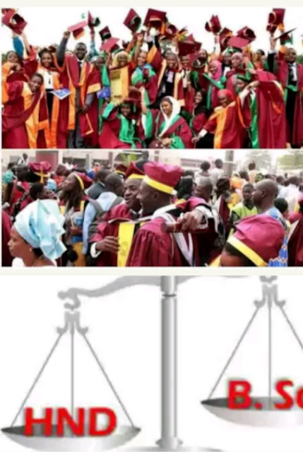 FG Ends B.Sc And HND Dichotomy, Approves Equal Salaries For HND & Degree Holders