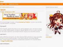 Anime Templates for Blogger: Kantai Collection