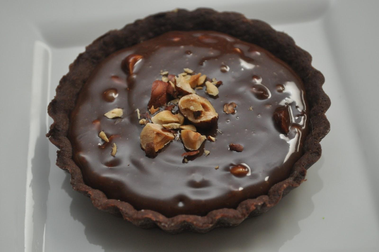 Chocolate Caramel Pecan Tartlets | The Modern Baker Challenge