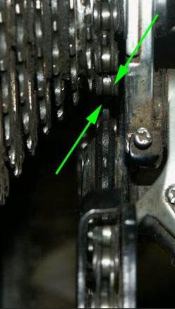 регулировка больших скоростей заднего переключателя